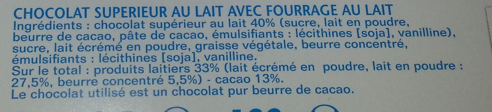 Chocolate - Ingredienti - fr