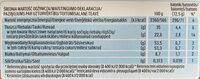 Chocolate - Wartości odżywcze - pl