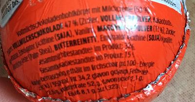 Kinder Überraschung - Ingrediënten