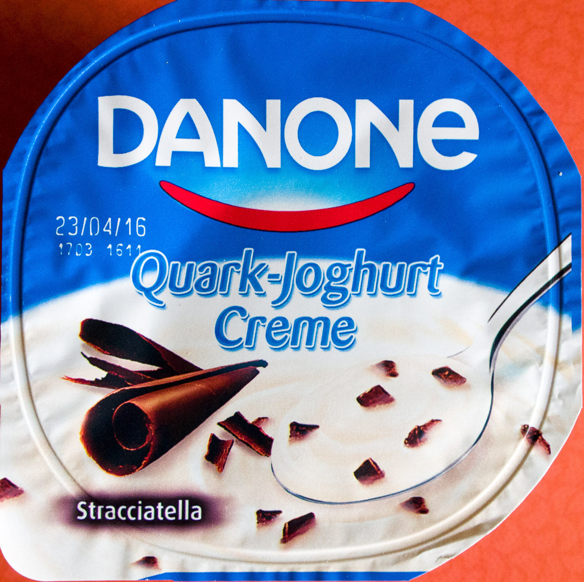 quark joghurt creme stracciatella danone 150 g. Black Bedroom Furniture Sets. Home Design Ideas