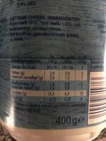 Hüttenkäse - Nutrition facts - en