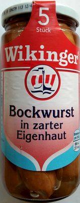 Bockwurst in zarter Eigenhaut - Produit