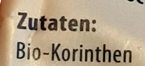 Korinthen - Ingrédients - de