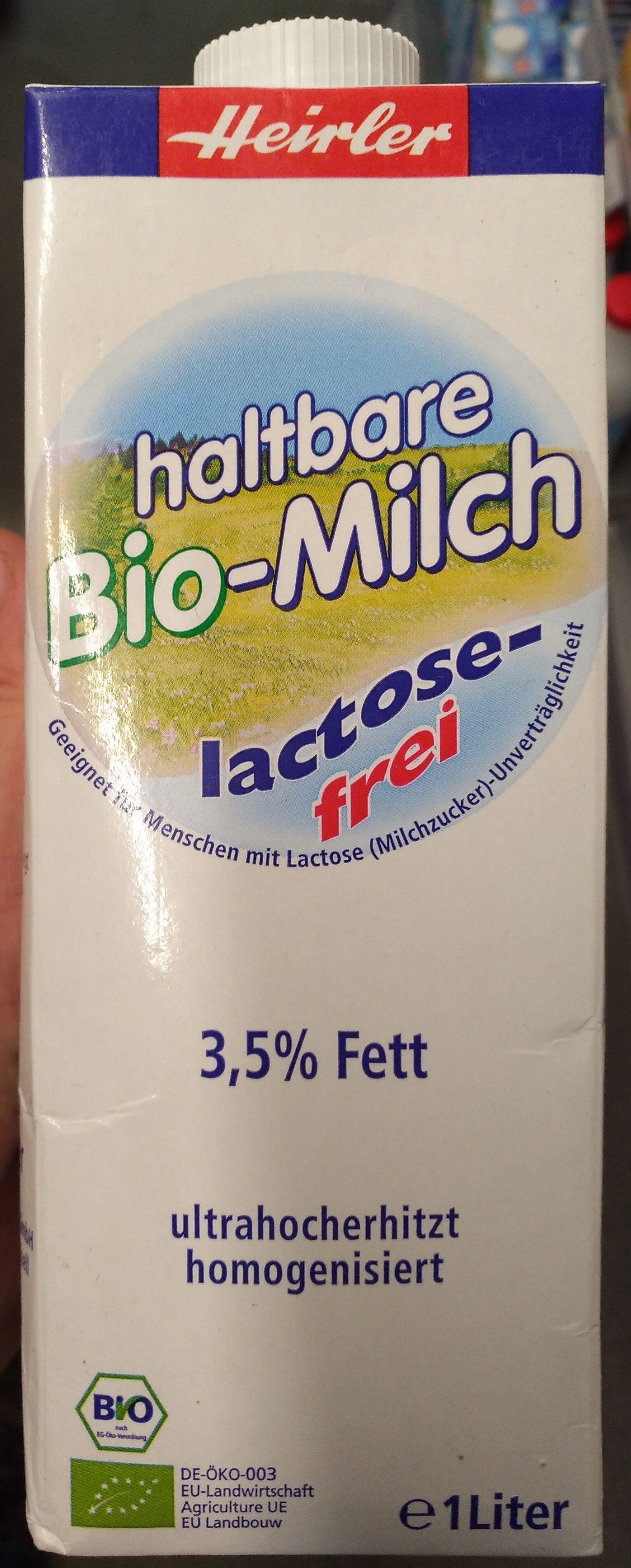 Lait entier bio - Product - fr