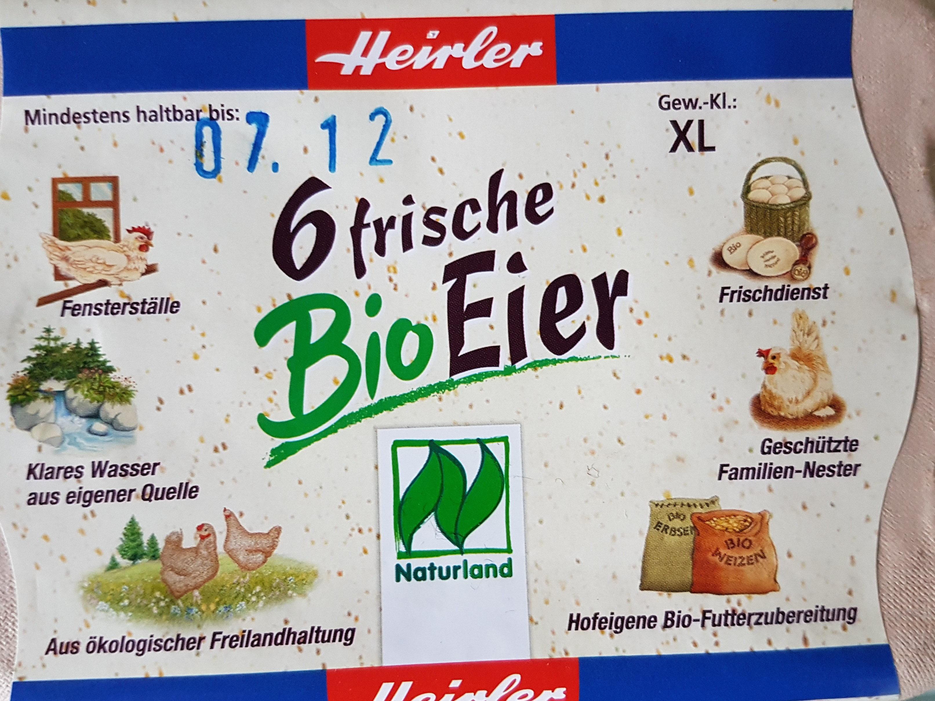 Bio Eier - Produit - de
