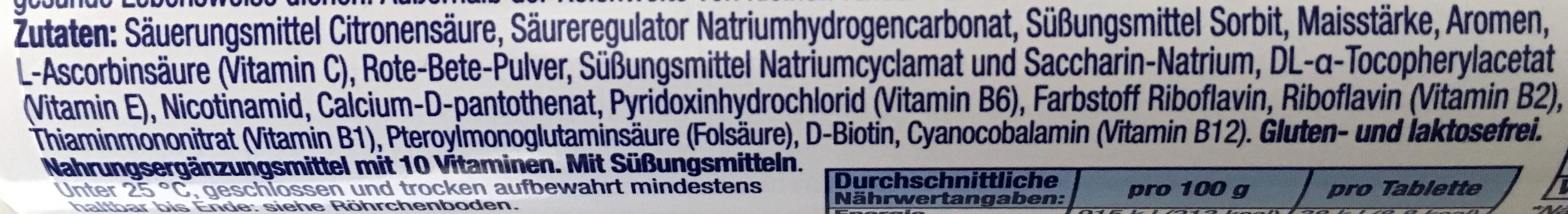 Multivitamin - Zutaten - de