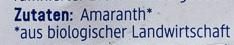 Amaranth - Inhaltsstoffe