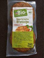 Vegetarische Bratlinge - Product