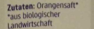 Orangen Saft - Ingrediënten - de