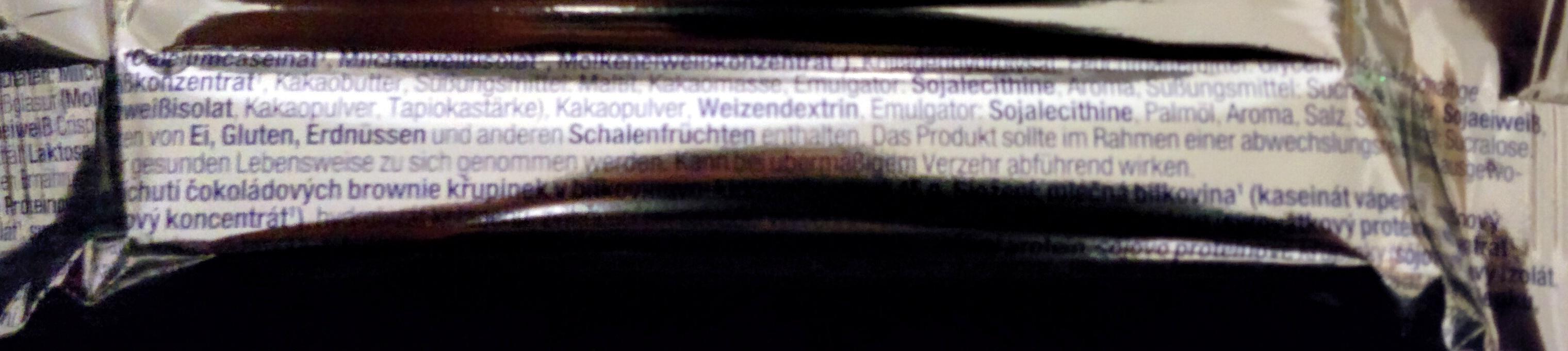 Eiweiß 50% Brownie-Chocolate-Crisp - Ingredients