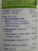 Reis Flocken - Informations nutritionnelles - fr