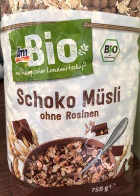 Schoko Müsli ohne Rosinen - Produkt - de