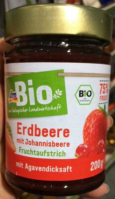 Erdbeere Mit Johannisbeere Fruchtaufstrich - Produit - de