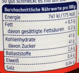 Erdbeere Mit Johannisbeere Fruchtaufstrich - Informations nutritionnelles - de