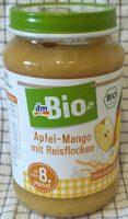 Apfel-mango Mit Reisflocken , Ab Dem 8. Monat - Produit - de