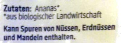 Ananas Stücke - Ingrediënten - de