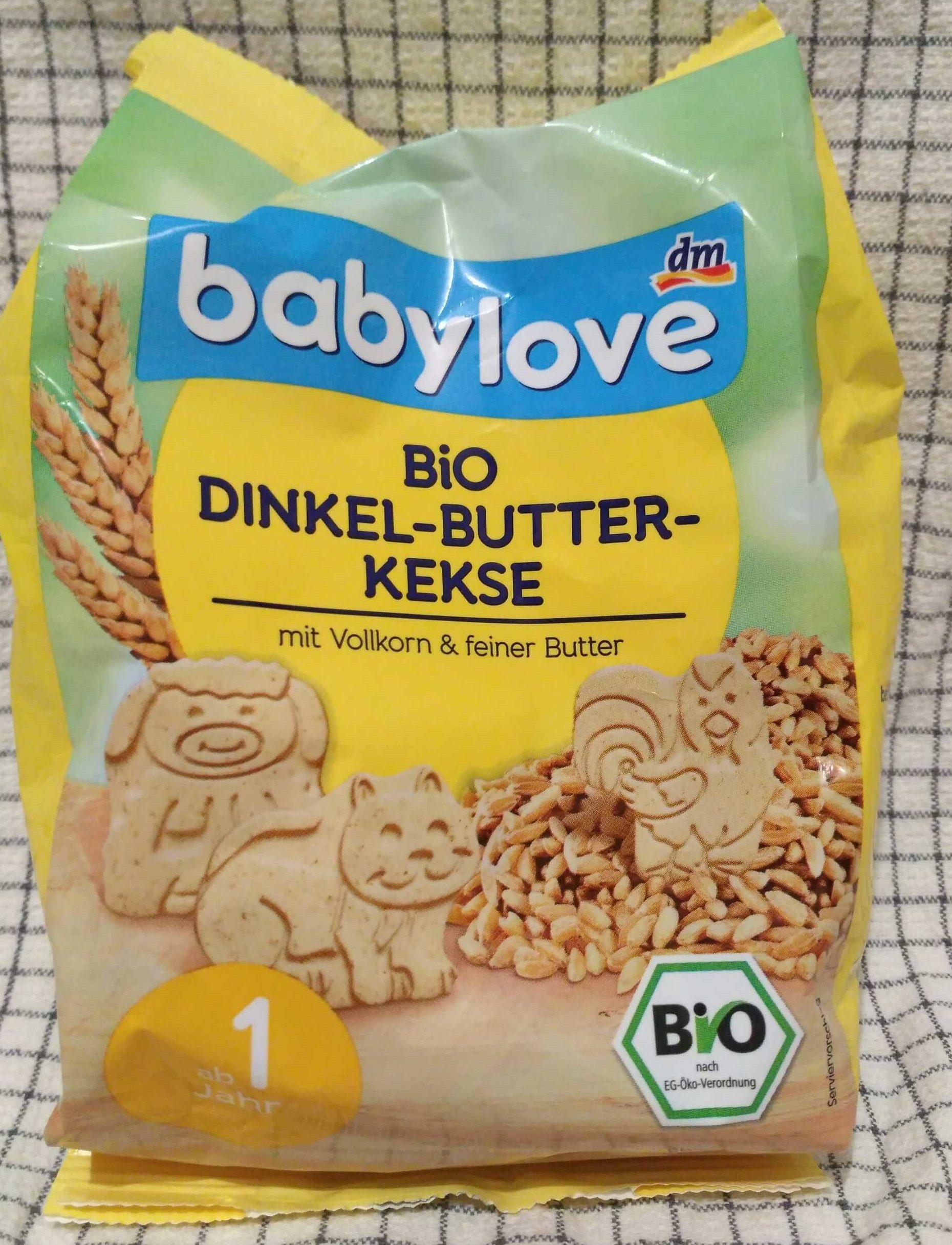 Bio Dinkel-Butter-Kekse - Product