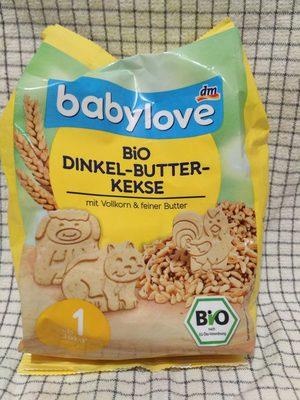 Bio Dinkel-Butter-Kekse - Produit - fr
