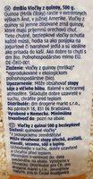 Quinoa Flocken - Inhaltsstoffe