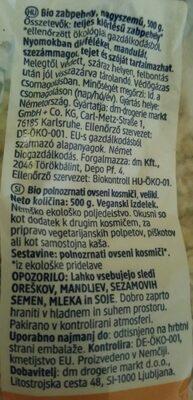 Haferflocken Großblatt - Ingredients