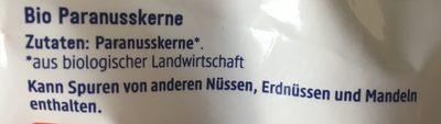 Dmbio Paranusskerne - Ingredients