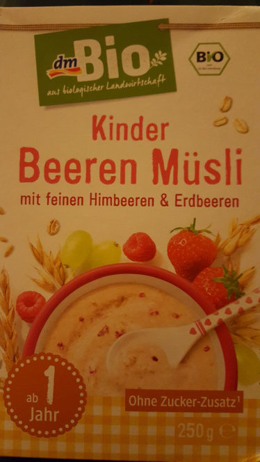 Kinder Beeren Müsli - Produit - de