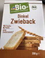Dinkel Zwieback - Produto - de