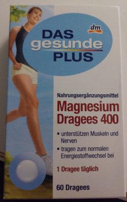 Magnesium Dragees 400 - Produkt - de