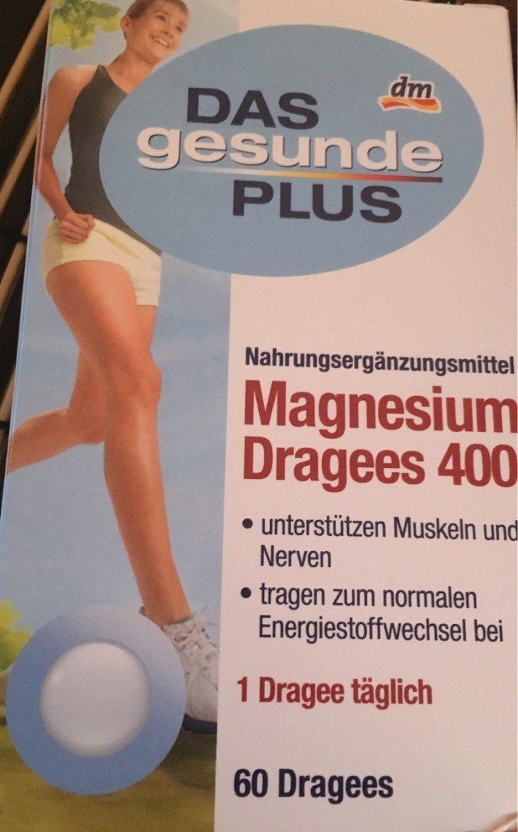 Magnesium Dragees 400 - Produit