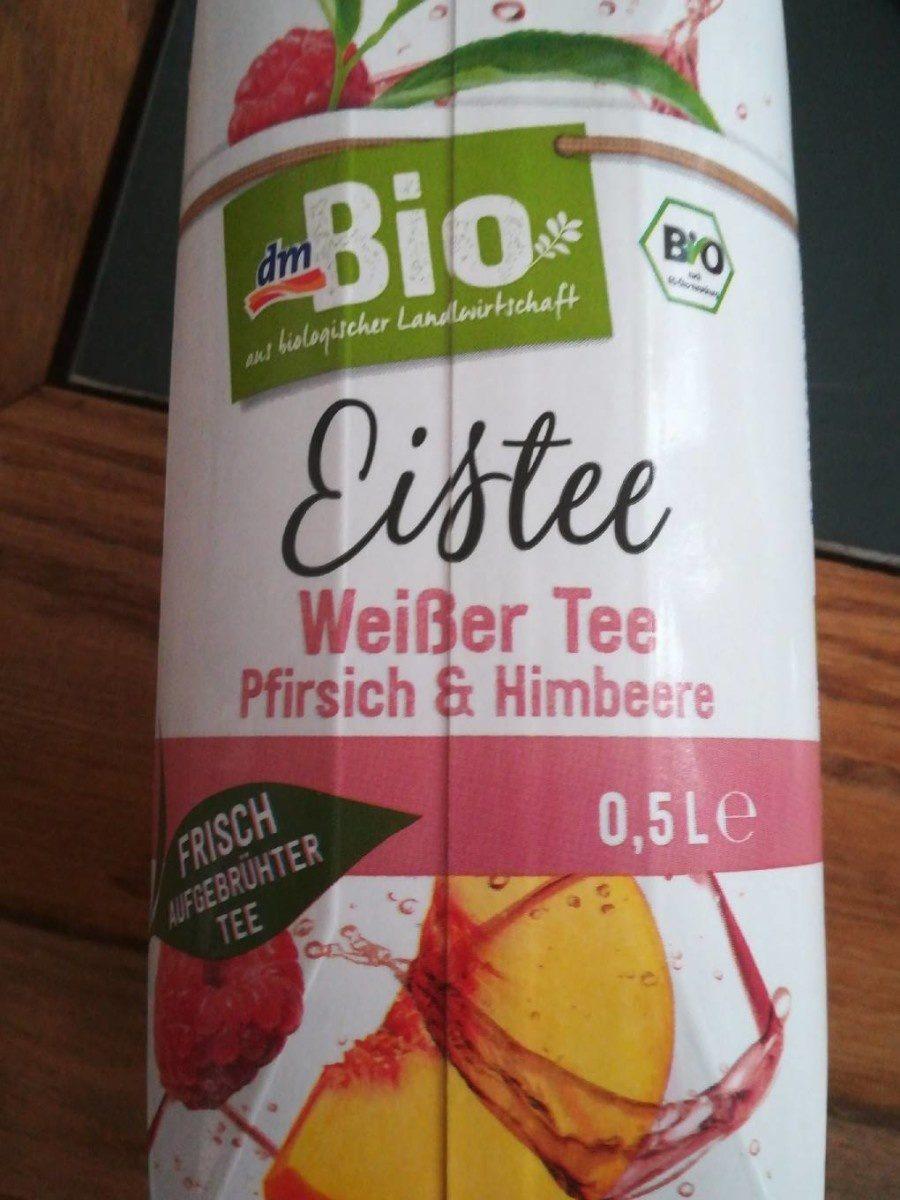 Eistee - Weißer Tee Pfirsich & Himbeere - Produit