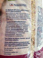 Beeren Müsli - Ingredients
