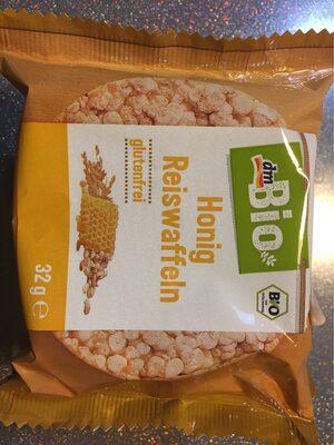 Honig Reiswaffeln - Produit - de