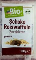 Schoko Reiswaffeln Zartbitter - Produit