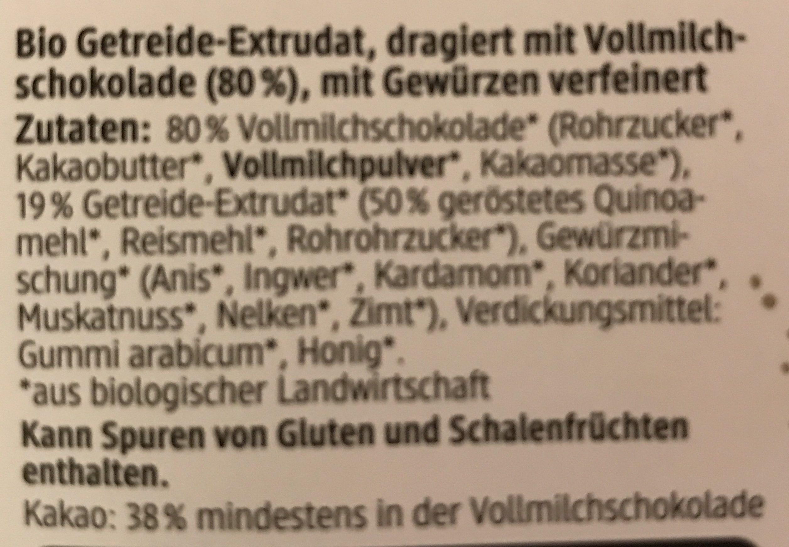 Quinoa Kugeln - Ingrédients - fr