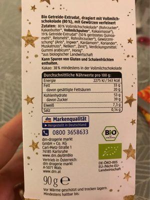 Quinoa Kugeln - Informations nutritionnelles - fr