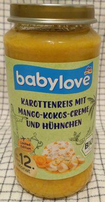 Babylove Kindermenue, Karottenreis Mit Mango-kokos. .. - Product
