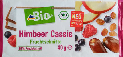 Himbeer Cassis Fruchtschnitte - Product