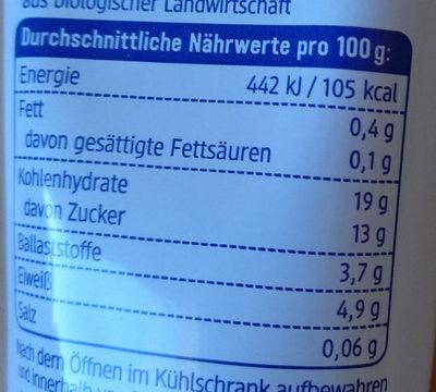 Tomatenmark - Informations nutritionnelles - de