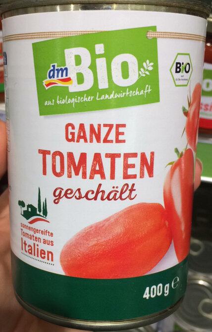 Ganze Tomaten geschält - Produkt - de