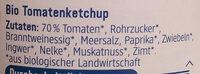 Tomaten Ketchup - Ingredients