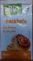 Backhefe - Product - de