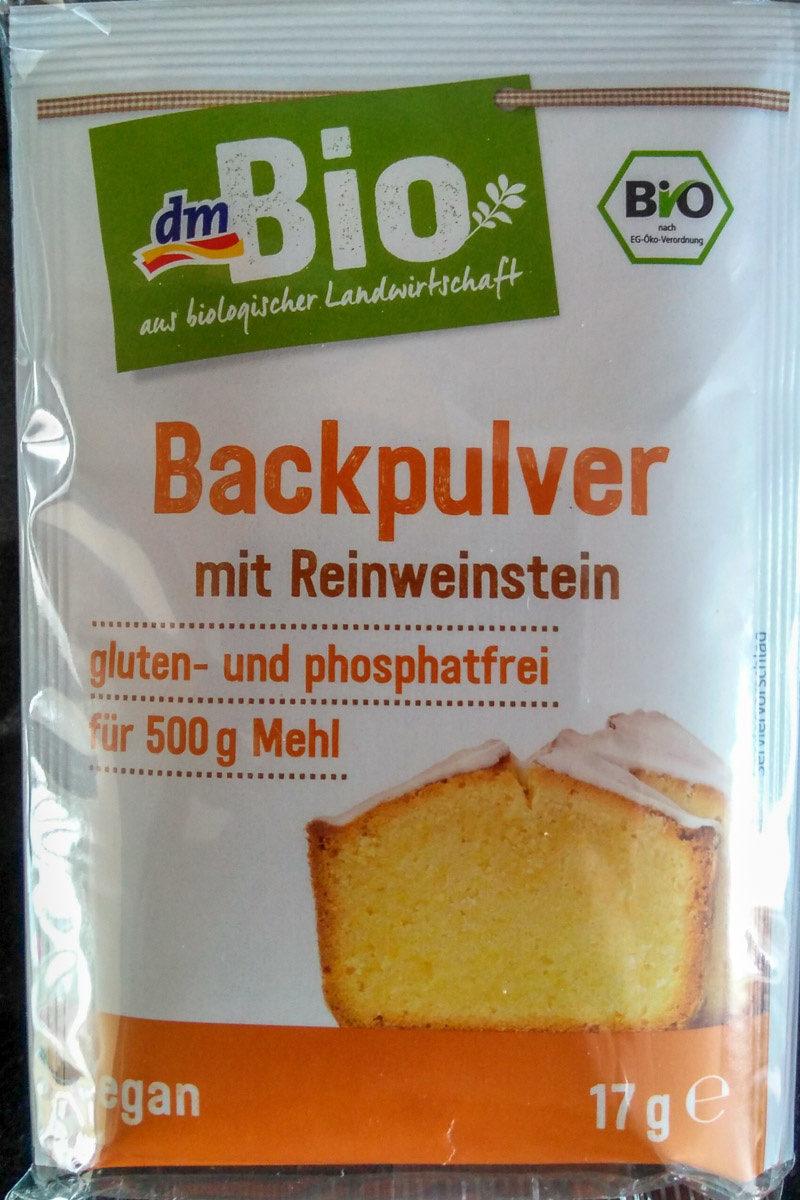 Backpulver mit Reinweinstein - Produkt