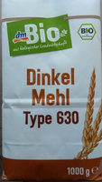 Dinkelmehl Type 630 - Product