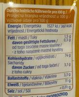 Dinkel Spaghetti - Nutrition facts