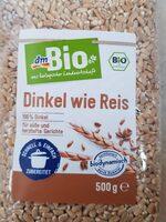 Dinkel wie Reis - Produit - de