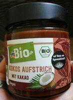 Kokos Aufstrich mit kakao - Produkt - de