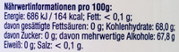 Dontodent Fresh White - Nutrition facts - de