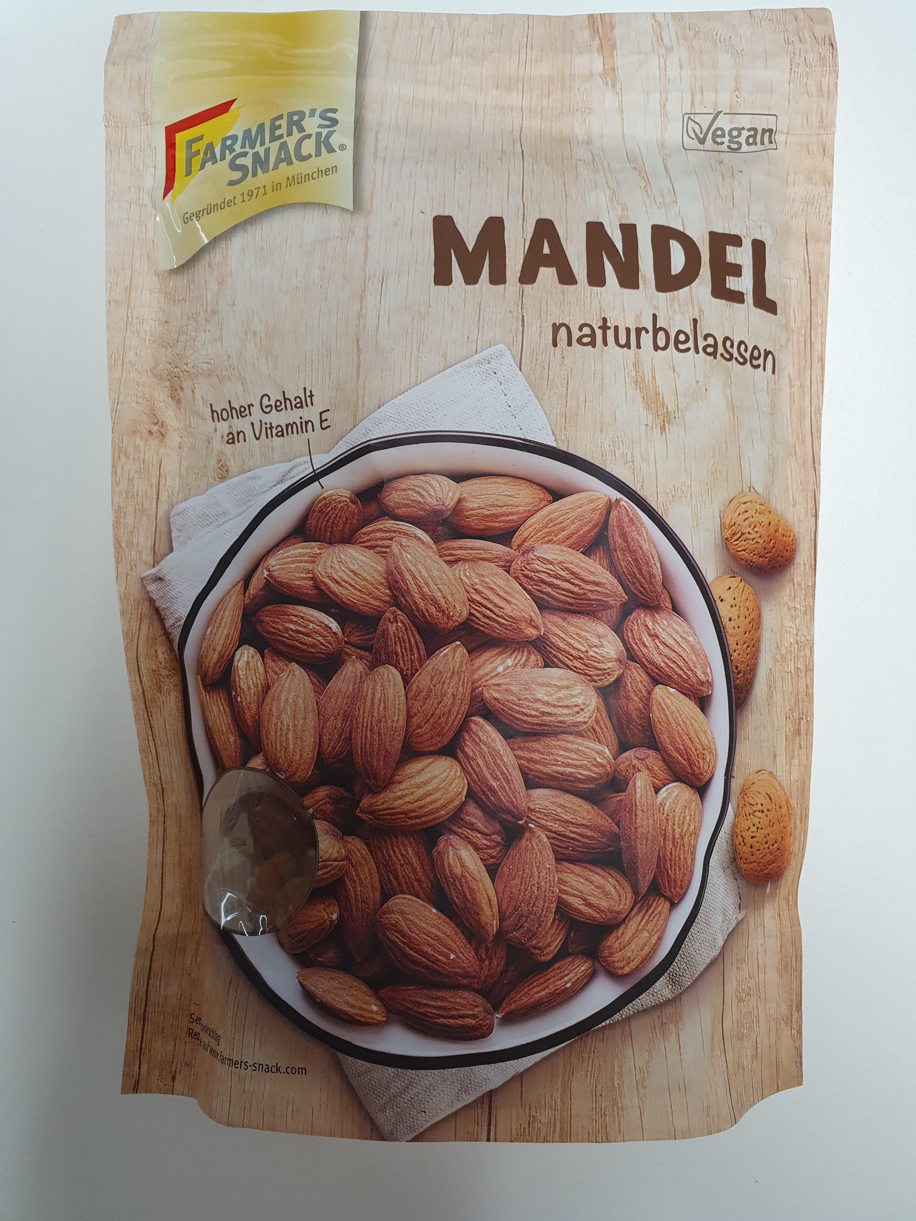 Mandel naturbelassen - Product - de