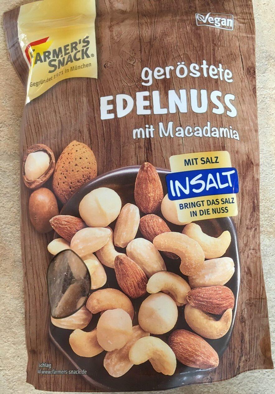 geröstete Edelnuss mit Macadamia - Product - de