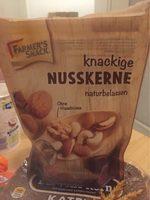 Farmer's Snack Knackige Nusskerne Naturbelassen - Produit - fr